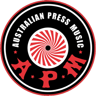 APM Australian Press Music Blood Red Rock and Roll